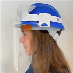 Visière de protection pour casque de chantier