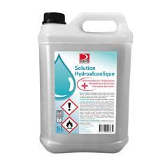 Solution hydroalcoolique liquide - Bidon de 5 litres