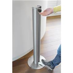Distributeur de gel sur pied sans contact en Inox