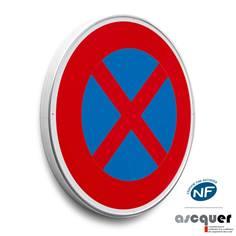 Panneau de stationnement Arrêt et Stationnement interdit - B6d