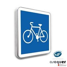 Panneau Piste cyclable conseillée - C113