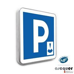 Panneau de Parking à durée limitée - C1b