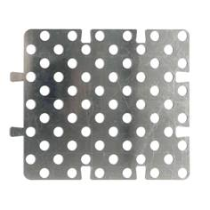 Gabarit de pose en alu pour plots podotactiles - 450 x 412 mm