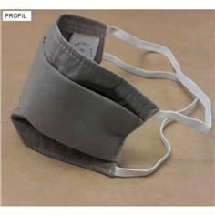Masques grand public en tissu - Catégorie 1 Couleur Couleur gris