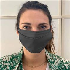 Masques grand public en tissu - Catégorie UNS1 Couleur Couleur Gris Anthracite