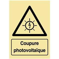 Panneau photovoltaïque - Coupure photovoltaïque - PVC photoluminescent