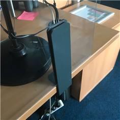 Pince de table ou bureau pour écran de protection