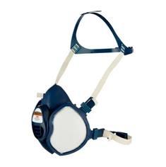Demi-masque contre poussières FFP2 et vapeurs organiques A1