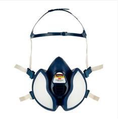 Demi-masque contre poussières FFP3, vapeurs organiques, gaz et amoniac