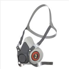 Demi-masque à cartouches anti-poussières et anti-gaz - 3M Série 6000