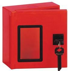 Boîte à clés carrée