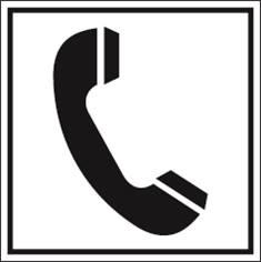 Téléphone PIC 458 - 200 x 200 mm