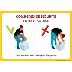 Consignes de sécurité Comment soulevez correctement