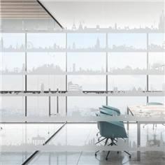 Bande de vitre adhésive - L 10 m x H 12 cm - Villes et Pays