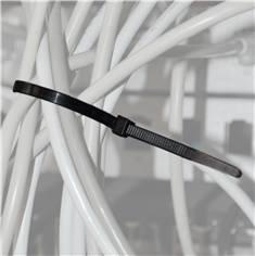 Lot de 100 liens de serrage nylon noir