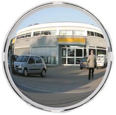 Miroir multi-usage cadre blanc - contrôle 3 directions