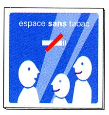 Signalétique espace sans tabac