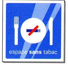 Signalétique Restaurant sans tabac