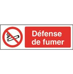 Signalétique Défense de fumer - STF 3609S