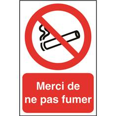 Merci de ne pas fumer STF 2103