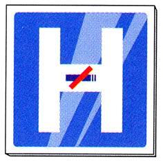 Signalétique Hôpital non fumeur