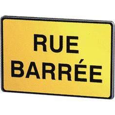 Panneau chantier Rue barrée - KC1 19P