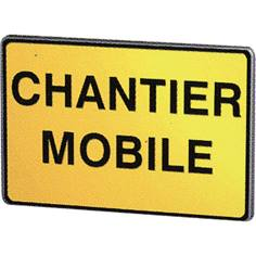 Panneau Chantier Mobile - KC1 CM