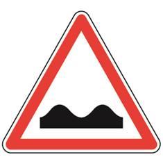 Panneau de danger Dos d´âne - A2a