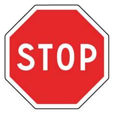 Panneau Stop - AB4