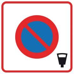 Panneau de stationnement B6b4 - Zone à stationnement payant