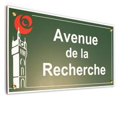 Plaque de rue Incassable-Anti Graffiti