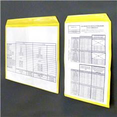 Pochettes magnétiques avec fenêtre transparente - Lot de 50