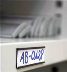 Porte-étiquettes aimantés avec profil en C - à découper