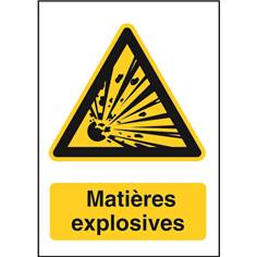 Matières explosives STF 2509