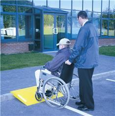 Rampe d´accès Amovible pour poussettes et fauteuils roulants