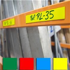 Ruban magnétique avec PVC de couleur pour signalisation sur longeron