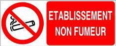 Etablissement non fumeur - STF 3641S