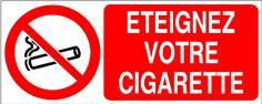 Eteignez votre cigarette - STF 3610S