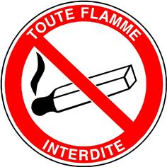 Toute flamme interdite - STF 1721S