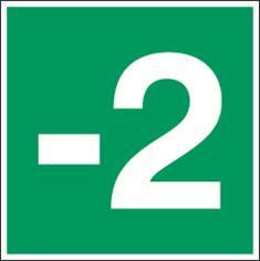 Signalétique Niveau -2 - PIC 373