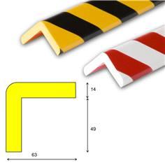 Amortisseur de chocs - type H+ - Longueur 1 mètre