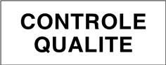 Contrôle qualité - STF 3724S
