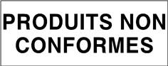 Produits non conformes - STF 3713S