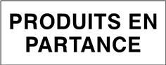 Produits en partance - STF 3710S
