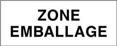 Zone emballage - STF 3701S