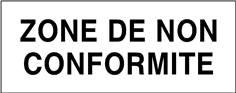 Zone de non conformité - STF 3704S