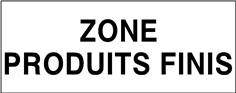 Zone produits finis - STF 3703S