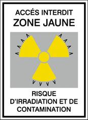 Risque d´irradiation et de contamination STF 172