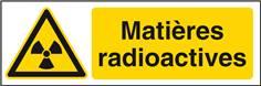 Matières radioactives STF 2523