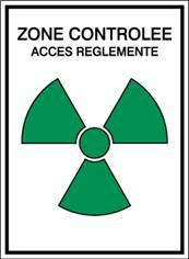 Zone controlée / Accès réglementé STF 452